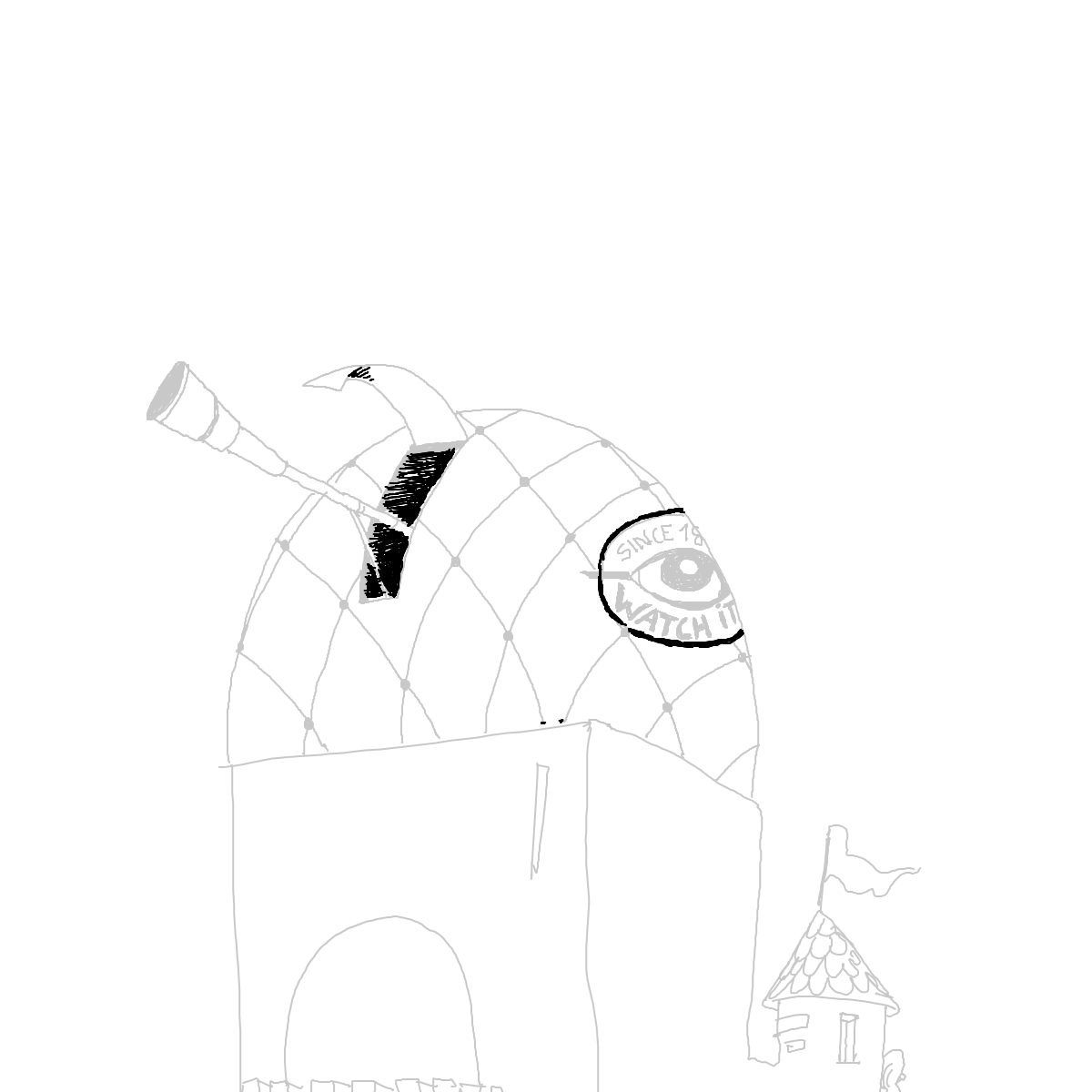BAAAM drawing#3790 lat:78.4176025390625000lng: -4.4395356178283690