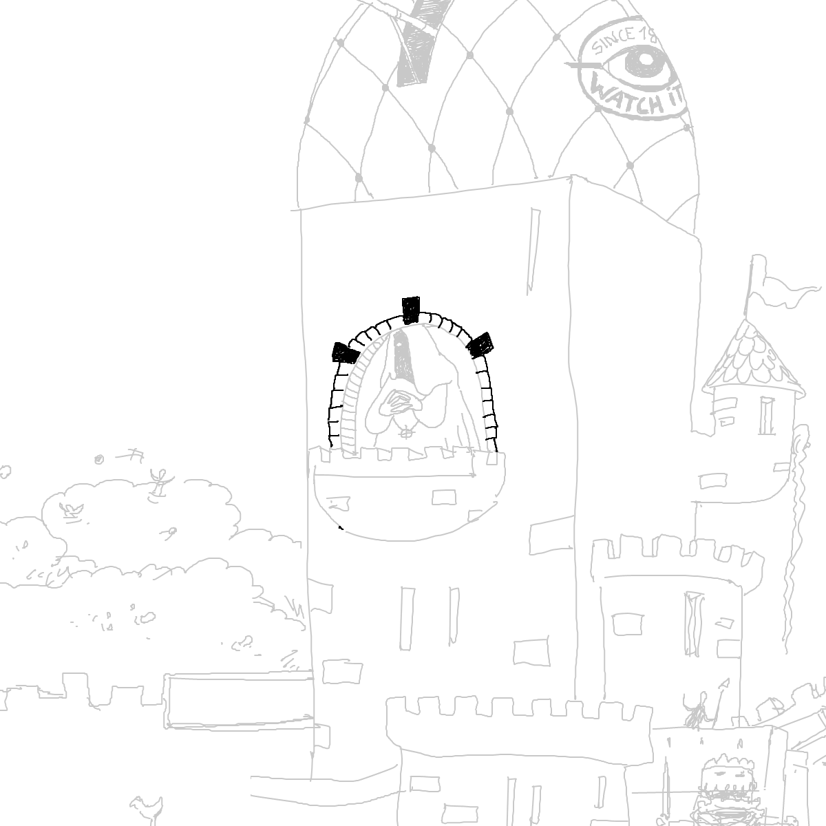 BAAAM drawing#3812 lat:78.4176025390625000lng: -4.4395499229431150