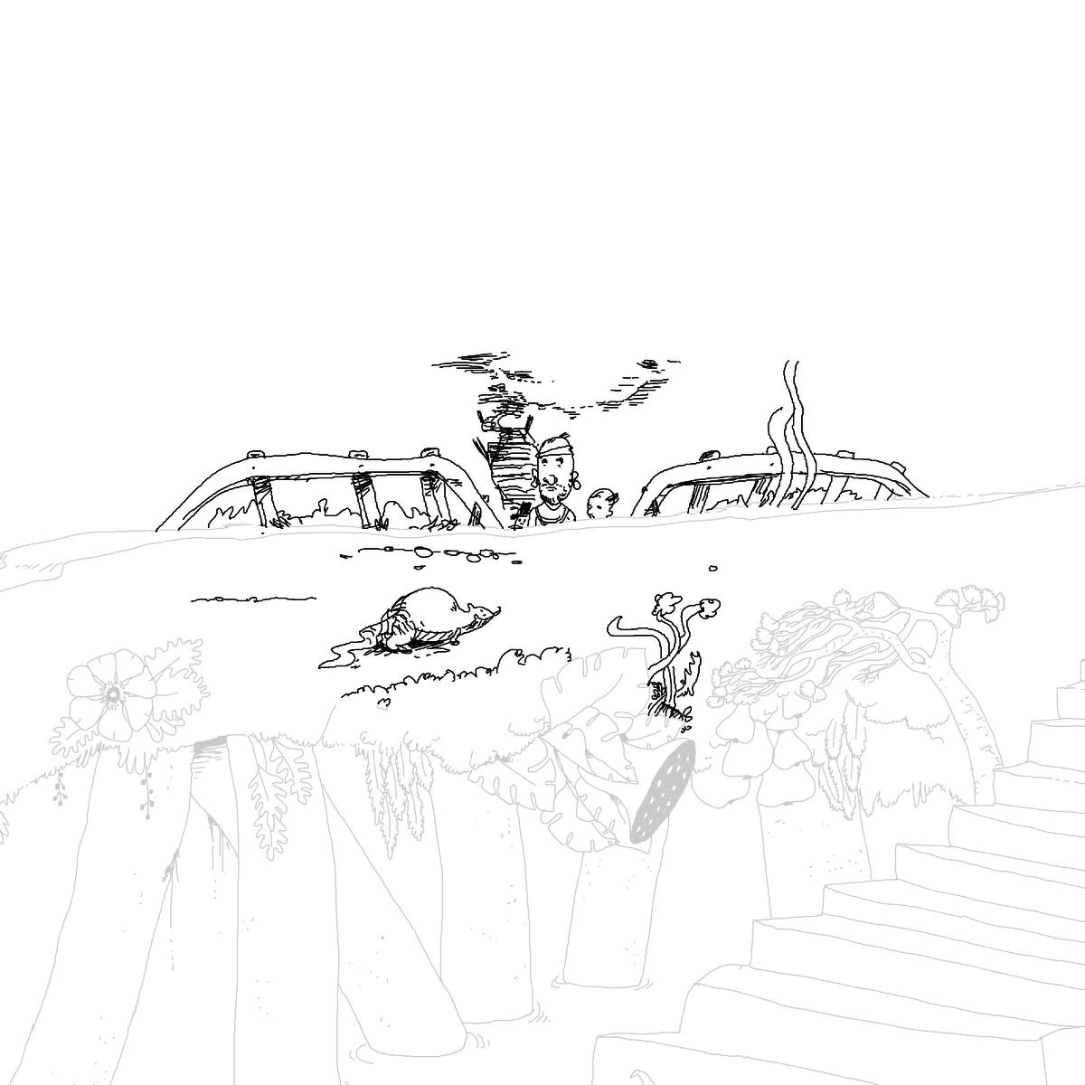 BAAAM drawing#4037 lat:78.4176025390625000lng: -4.4392714500427250